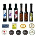 Virgin Extra olive oil and vinegar. 250ML Pack 6 units. bsp