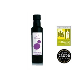 Aceite oliva VE Arbequina selección botella 250ml delicatessenMED Bsp