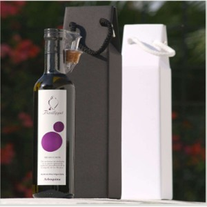 Extra Virgin Olive Oil 500ml Arbequina or Blend selection in a cardboard box B/W. delicatessenMED Bsp